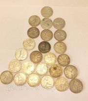 Продам монеты серебро СССР полтинник 1924 год.