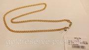 Цепочка золотая,  вес 13.78 грамм,  50 см. Плетение