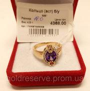 Кольцо - перстень женское золотое,  4.8 грамм. БУ.