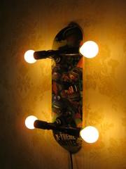 Светильник,  ночник,  бра , ,  Скейт, ,