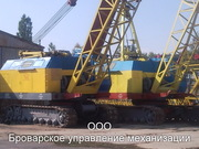 Аренда гусеничных кранов МКГ-25БР Киев и др.