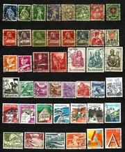 Продам почтовые марки Швейцарии.