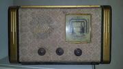 Радио ламповый приемник рекорд 53 1962 года