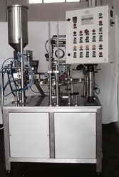 Автоматическая машина наполнения и упаковки стаканчиков CSA-7