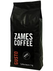 Кофе в зернах ZAMES Gusto 1 кг | 50% Арабики -оптом