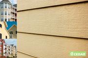 Фиброцементный сайдинг и плиты Cedar - уникальное сочетание для фасада