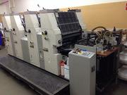 четырехкрасочная печатная машина Hamada B452A