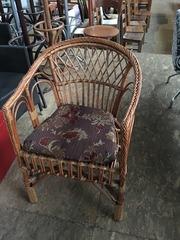 Кресло из натурального ротанга б/у