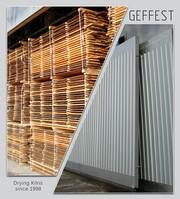 GEFEST - современные промышленные сушильные камеры и комплексы для сушки древесины высокого качества.