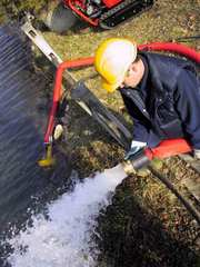 Качественные гидравлические помпы для откачки грязной воды (Киев)
