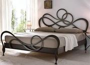 Кровати собственного производства кованые