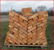 Предлагаем кирпич рядовой полнотелый строительный красный,  Нежинский