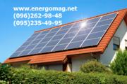Солнечные панели, солнечные батареи, для дома, мощность 1кВт,  2 кВт,  3кВ