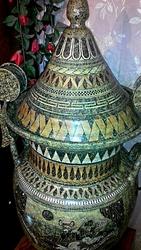 Ваза высота 114 см, диаметр 50 см.Эксклюзивная ручная роспись. Греция.