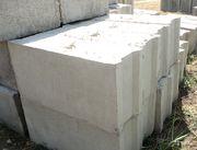 Фундаментные блоки всех размеров в наличии и по индивидуальному заказу