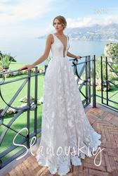 Самые изысканные свадебные платья от салона  New Slanovskiy
