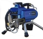 Производительный поршневой окрасочный аппарат E - 310