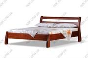Изготовление кроватей, тумбочек  натуральное дерево массив ольха высокое качество