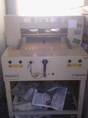 Гильотина гелиотина резак для бумаги полиграфическое оборудование
