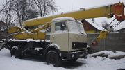 Автокран КС-3577-3 на базе МАЗ-5337