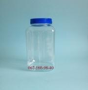 Баночка пластиковая ПЭТ 1 литр