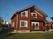 Продается деревянный дом-сруб в скандинавском стиле под Киевом