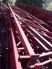 Продам металлические двускатные фермы 18 м