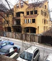 Дом/офис. Объект незавершенного строительства в Киеве.