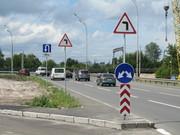 Изготовление монтаж согласование дорожных знаков