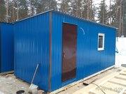 Дачные домики-бытовки для строителей.
