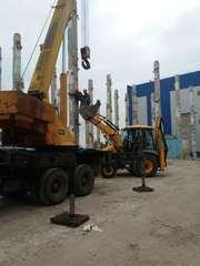 Демонтаж промышленных зданий и сооружений.Земляные работы
