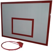 Баскетбольный щит металлический 0, 9м х1, 2м.