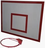 Баскетбольный щит металлический 0, 8м х1, 0м.