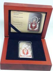 Продам Серебрянную монету- икону Божьей матери неупеваемая чаша.