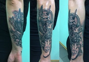 Тату. Татуировка в Киеве. Тату модели.Tattoo.Киев