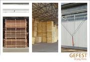 GEFEST DKA — высокоэкономичные промышленные сушильные камеры для сушки древесины.
