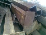 Колонны,  опоры,  стойки,  перекрытие - размер 300х200,  швеллер 30 короб