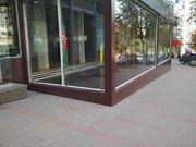Нежилого помещения на бул. Леси Украинки. Фасад. Открытая планировка.