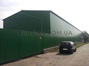 Строительство складов,  производственно-складских помещений,  ангары.