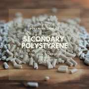 Вторичный полипропилен (ПП),  серый,  гранулы. Полистирол вторичный