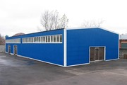 Ремонт складов,  ангаров,  метал. зданий и сооружений