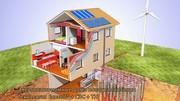 ECOCOLT® – высокоэффективная энергосберегающая система домов.
