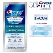 Экспресс отбеливание зубов Crest 3D White Whitestrips 1 Hour Expess-оригинал USA