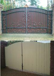 Кованые ворота в Киеве и Киевськом регионе