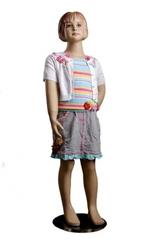 Манекен детский телесный 113см