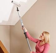Покраска потолка Поклейка стен обоями