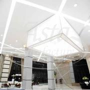 Монтаж натяжного потолка с подсветкой в Киеве