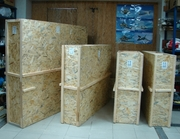 Ящики двойные с пенопластовой внутренностью для пересылки картин
