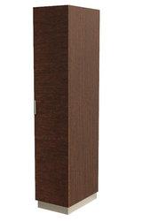 Шкаф-пенал для одежды коричневый
