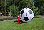 Надувные рекламные шары и сферы Advertising inflatable balls and spher